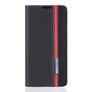 Klopové puzdro na mobil Huawei Y6 II a Honor 5A - černé - 1