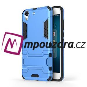 Outdoor odolný obal na mobil Huawei Y6 II a Honor 5A - světlemodrý - 1