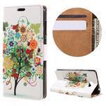 Emotive peňaženkové puzdro na Huawei Y6 II Compact - farebný strom - 1/7