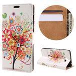 Emotive peněženkové pouzdro na Huawei Y6 II Compact - květinový strom - 1/7