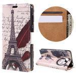 Emotive peňaženkové puzdro na Huawei Y6 II Compact - Eiffelova veža - 1/7