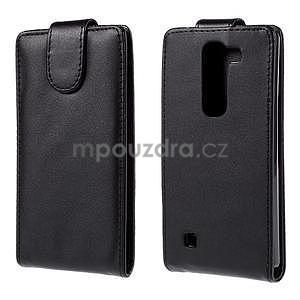 Čierné flipové puzdro pre LG G4c H525n - 1
