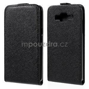Flipové pouzdro na Samsung Galaxy J5 - černé - 1
