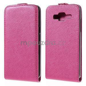Flipové pouzdro na Samsung Galaxy J5 - rose - 1