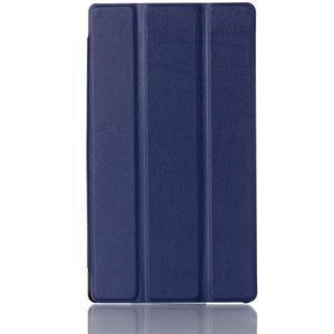 Polohovatelné pouzdro na tablet Lenovo Tab 2 A7-30 - tmavěmodré - 1