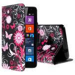 Safety puzdro pre mobil Microsoft Lumia 535 - motýľe - 1/5