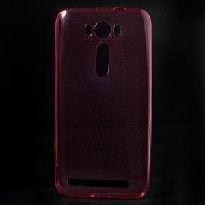 Ultra Tenký slim obal na Asus Zenfone 2 Laser - červený - 1