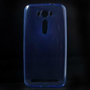 Ultra Tenký slim obal na Asus Zenfone 2 Laser - modrý - 1