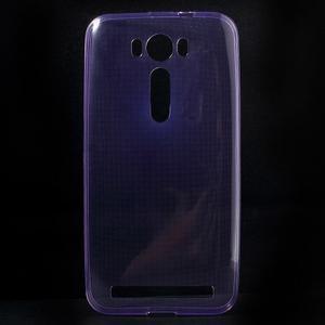 Ultra Tenký slim obal na Asus Zenfone 2 Laser - fialový - 1