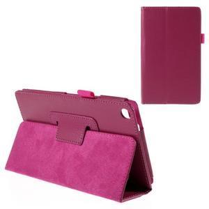 Koženkové puzdro pre tablet Asus ZenPad 7.0 Z370CG - rose - 1