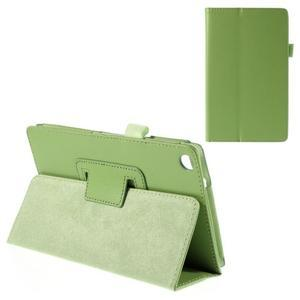 Koženkové puzdro na tablet Asus ZenPad 7.0 Z370CG - zelené - 1