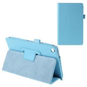 Koženkové puzdro na tablet Asus ZenPad 7.0 Z370CG - svetlomodrý - 1