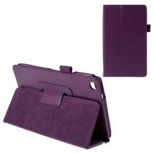 Koženkové puzdro na tablet Asus ZenPad 7.0 Z370CG - fialové - 1