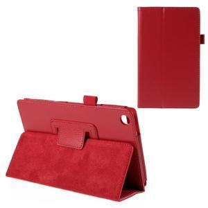 Koženkové puzdro na tablet Asus ZenPad 7.0 Z370CG - červené - 1