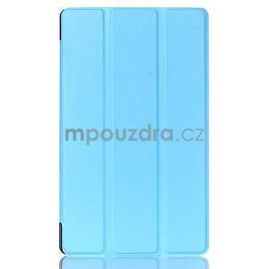 Trojpolohové puzdro na tablet Asus ZenPad 8.0 Z380C - svetlemodré - 1