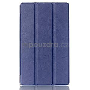 Trojpolohové puzdro pre tablet Asus ZenPad 8.0 Z380C - tmavomodré - 1