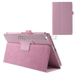 Safety polohovateľné puzdro pre tablet Asus ZenPad 8.0 Z380C - ružové - 1