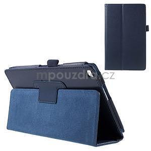 Safety polohovateľné puzdro pre tablet Asus ZenPad 8.0 Z380C - tmavomodré - 1
