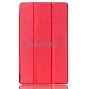 Trojpolohové puzdro na tablet Asus ZenPad 8.0 Z380C - červené - 1