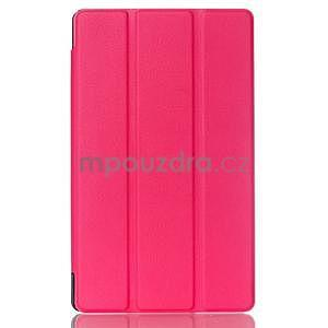 Trojpolohové puzdro na tablet Asus ZenPad 8.0 Z380C - rose - 1