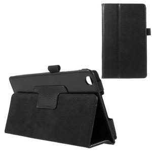Safety koženkové puzdro pre Asus ZenPad C 7.0 Z170MG - čierne - 1