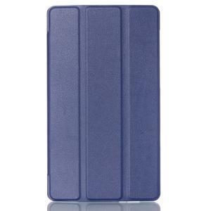 Trifold puzdro pre tablet Asus ZenPad C 7.0 Z170MG - tmavomodré - 1