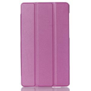 Trifold puzdro na tablet Asus ZenPad C 7.0 Z170MG - fialové - 1