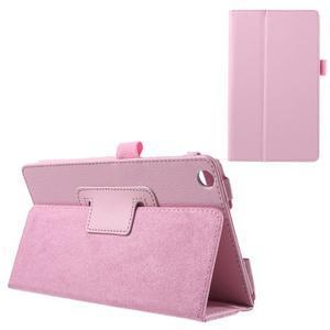 Safety koženkové puzdro pre Asus ZenPad C 7.0 Z170MG - ružové - 1