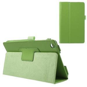 Safety koženkové puzdro na Asus ZenPad C 7.0 Z170MG - zelené - 1