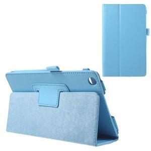Safety koženkové puzdro na Asus ZenPad C 7.0 Z170MG - svetlomodré - 1