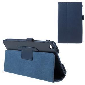 Safety koženkové puzdro pre Asus ZenPad C 7.0 Z170MG - tmavomodré - 1
