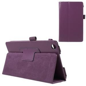 Safety koženkové puzdro na Asus ZenPad C 7.0 Z170MG - fialové - 1