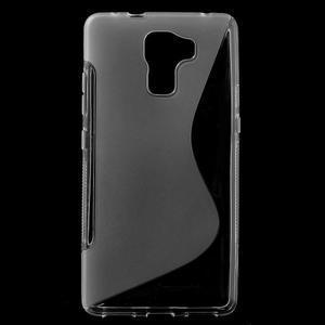Transparentný gélový kryt S-line na Huawei Honor 7 - 1