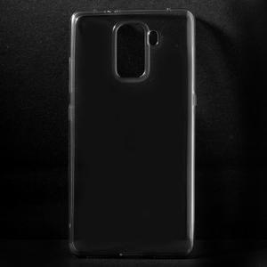 Transparentný gélový obal pre telefón Honor 7 - šedý - 1