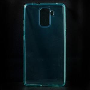 Transparentný gélový obal na telefón Honor 7 - azurový - 1