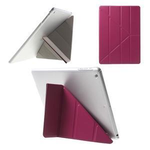 Origami ochranné puzdro pre Apple iPad Air - rose - 1
