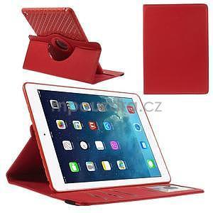Circ otočné puzdro na Apple iPad Air - červené - 1