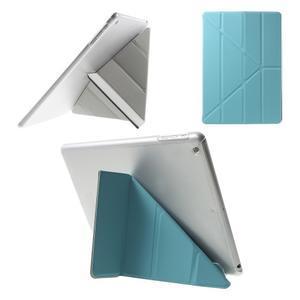 Origami ochranné puzdro pre Apple iPad Air - svetlomodré - 1