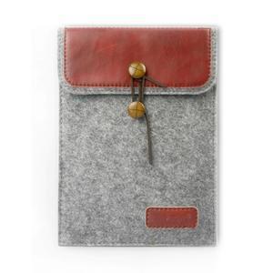 Envelope univerzálne púzdro na tablet 26.7 x 20 cm - červené - 1