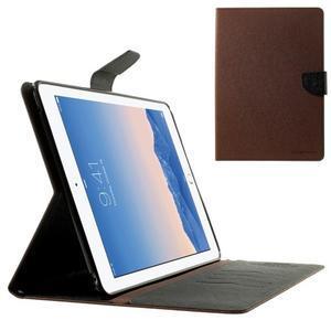 Excelent Diary puzdro pre iPad Air 2 - hnedé - 1