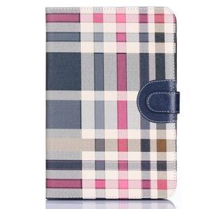 Fashion style puzdro na iPad Air 2 - tmavomodré - 1