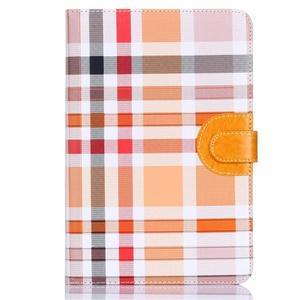 Fashion style puzdro pre iPad Air 2 - svetlohnedé - 1