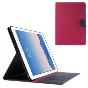 Excelent Diary puzdro pre iPad Air 2 - rose - 1
