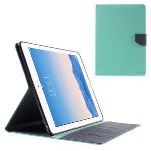 Excelent Diary puzdro pre iPad Air 2 - azúrové - 1