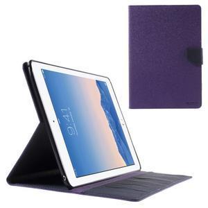 Excelent Diary puzdro pre iPad Air 2 - fialové - 1
