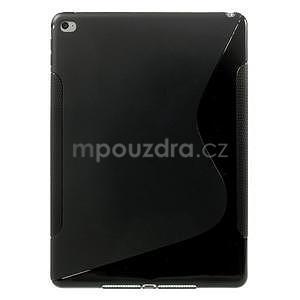S-line gélový obal na iPad Air 2 - čierny - 1