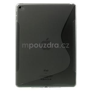S-line gélový obal na iPad Air 2 - šedý - 1