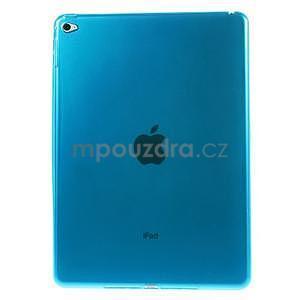 Ultra tenký slim obal na iPad Air 2 - modrý - 1
