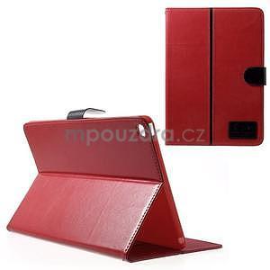 Daffi elegantné puzdro na iPad Air 2 - červené - 1