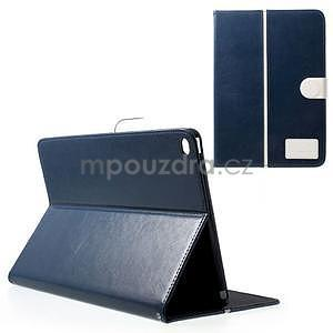 Daffi elegantné puzdro pre iPad Air 2 - tmavomodré - 1